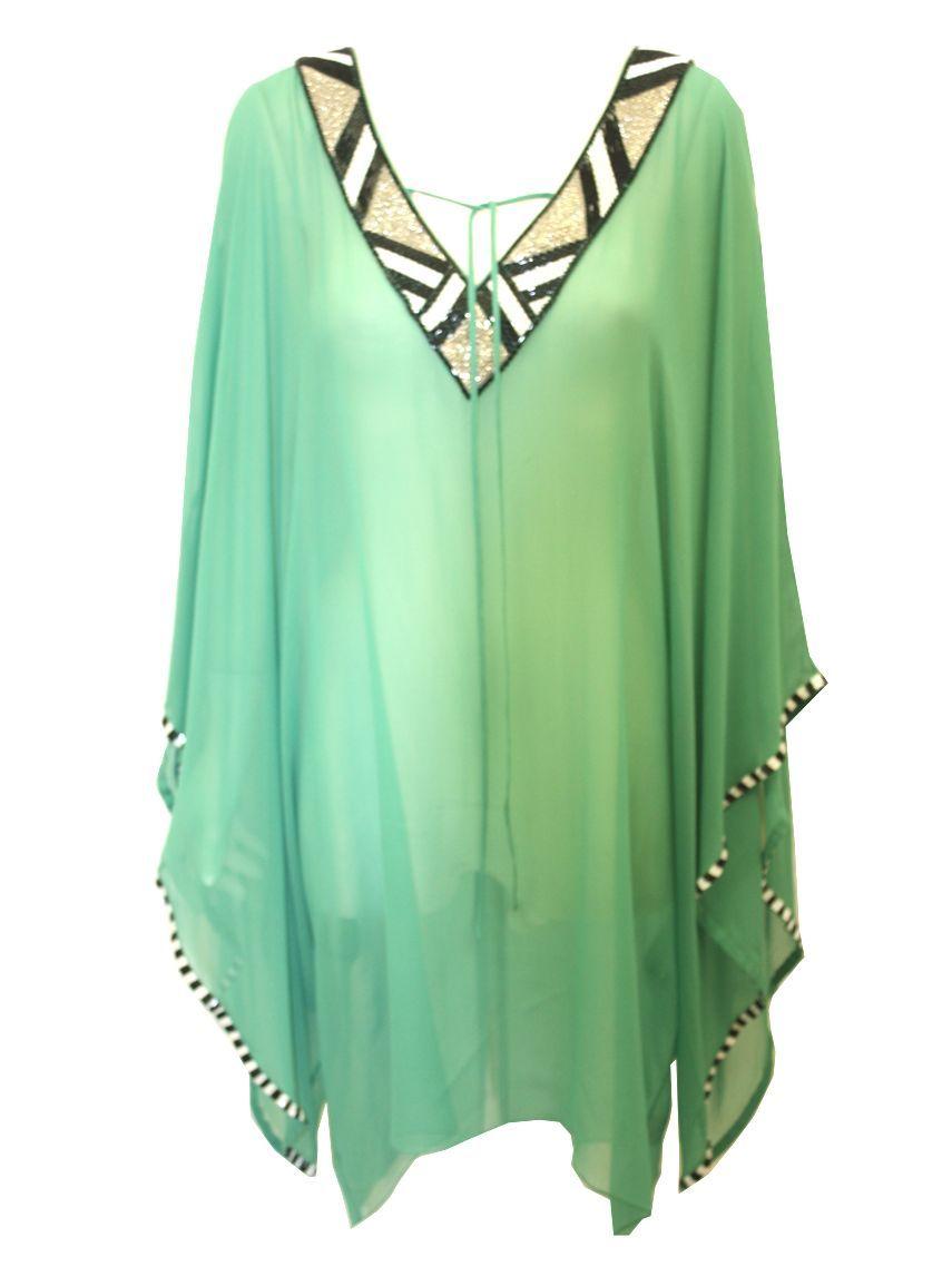 Trend Factor Defined Kaftans The New Summer Offering For Women Silk Kaftan Fashion Silk Shirt Outfit [ 1146 x 855 Pixel ]