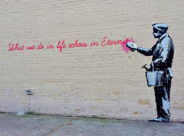 Banksy in NYC