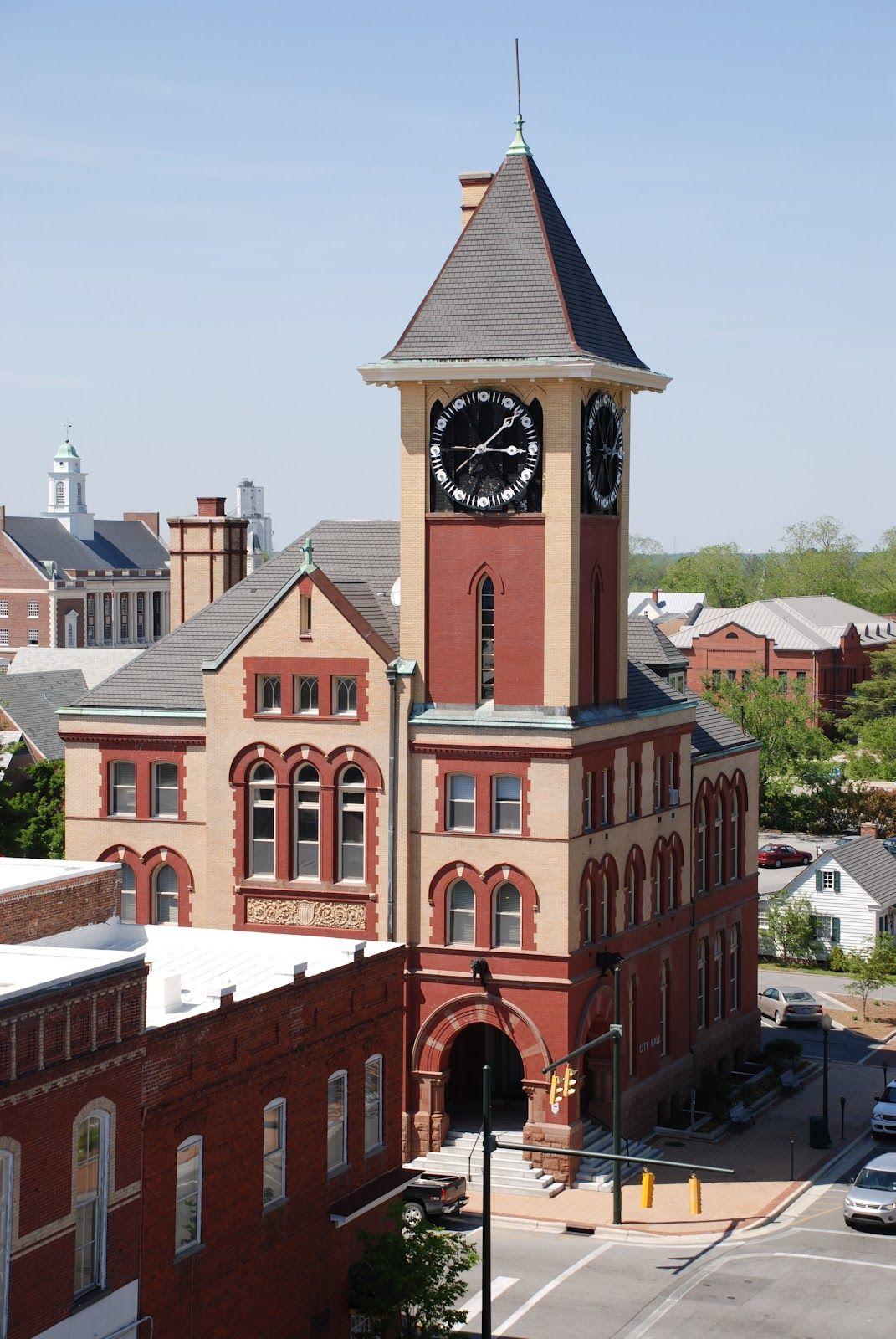 New Bern City Hall Clock Tower North Carolina Clock