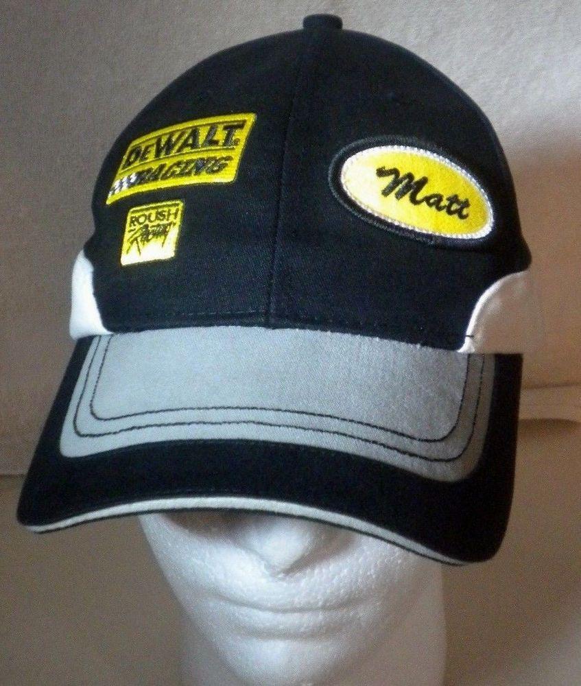 NASCAR  17 Matt Kenseth DeWalt Ball Cap Roush Racing Adjustable Chase Hat… a2eec276bebe