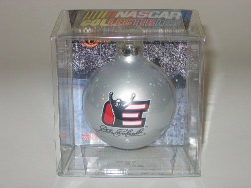 Dale Earnhardt Sr Legend E Daytona Win Pose Silver Ball Christmas Ornament by NASCAR. $10.99. Dale Earnhardt Sr Legend E Daytona Win pose silver ball ornament is new in package as shown in photo.