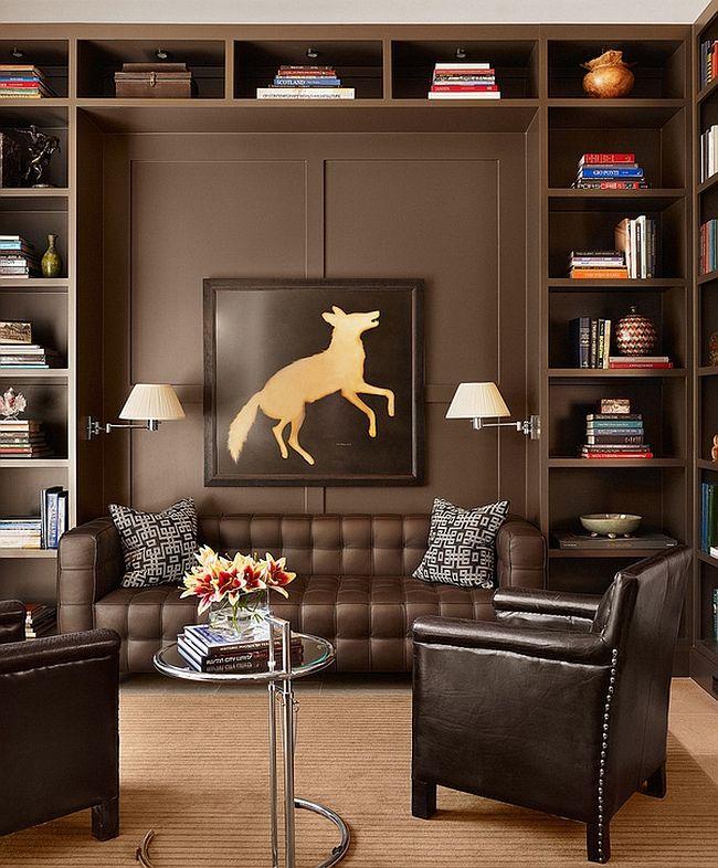 Homeoffice Den Design Ideas: 55 Incredible Masculine Living Room Design Ideas