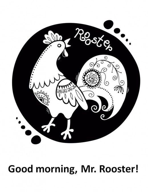 Printable Rooster Crafts for Kids | Pinterest | Big letters, Rooster ...