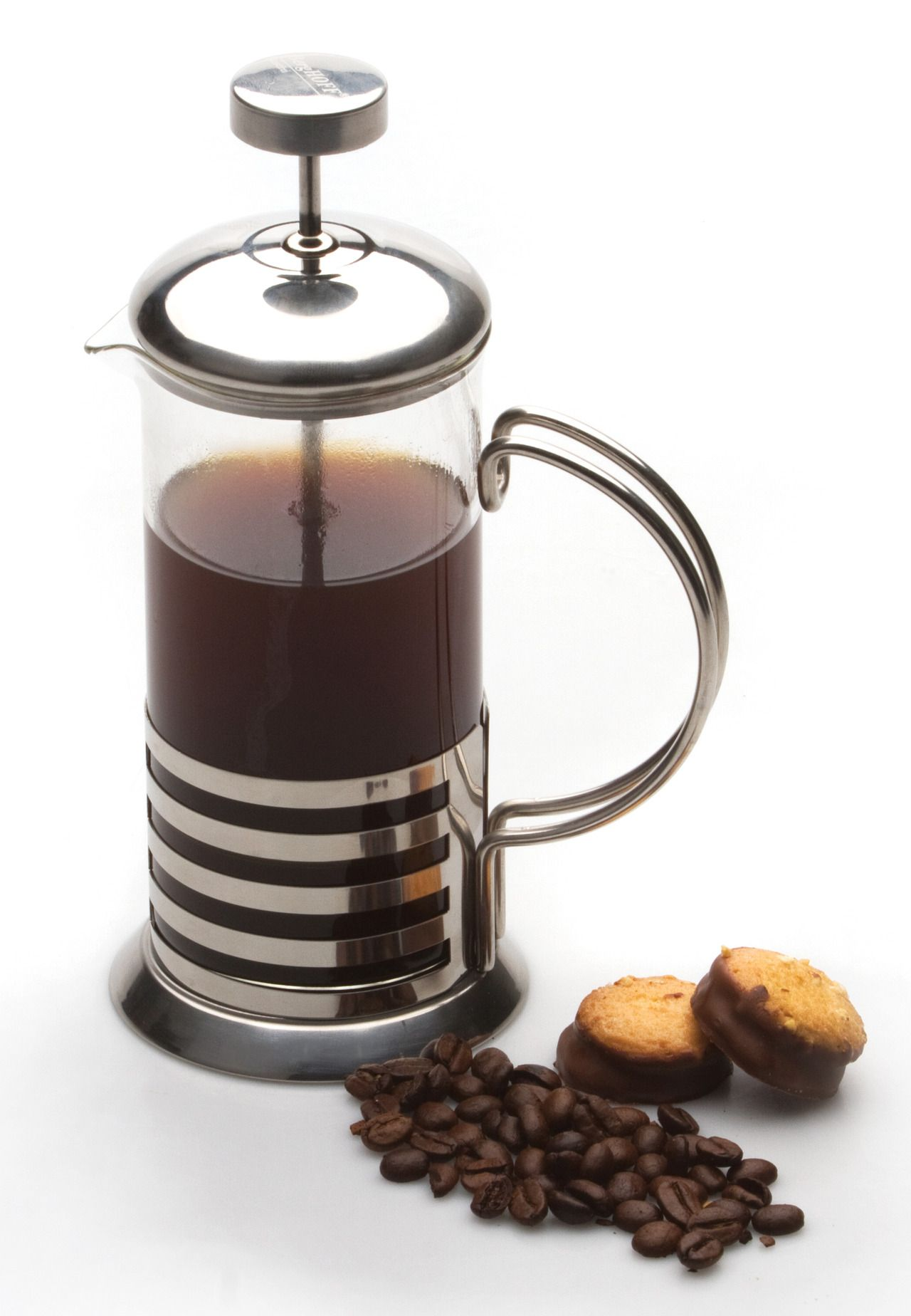 French Press Just Add Your Ground Coffee