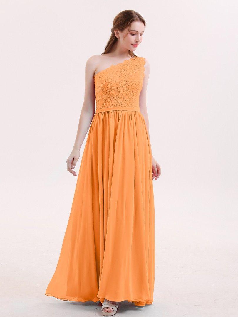 f8f4b5d1887 Babaroni Audrey One Shoulder Lace and Chiffon Dresses