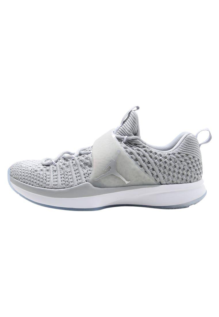 Nike Zapatillas de Sintético Para Hombre Gris Gris, Medium Grey/Metallic/White