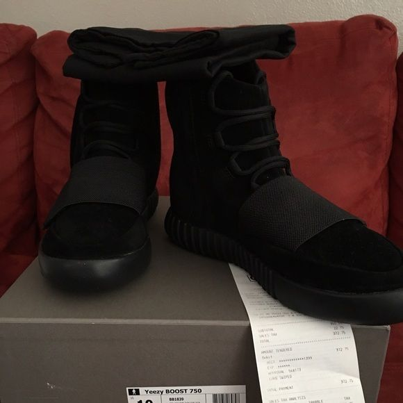 723a48963 NEW Authentic Adidas Yeezy 750 Black  w receipt Size 10 brand new Yeezy  Shoes Athletic Shoes