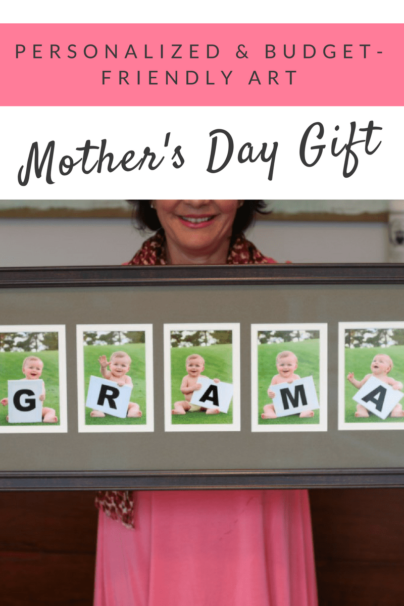 DIY Personalized Mother's Day Gift on a Budget | Personalized mother's day gifts, Mother's day ...