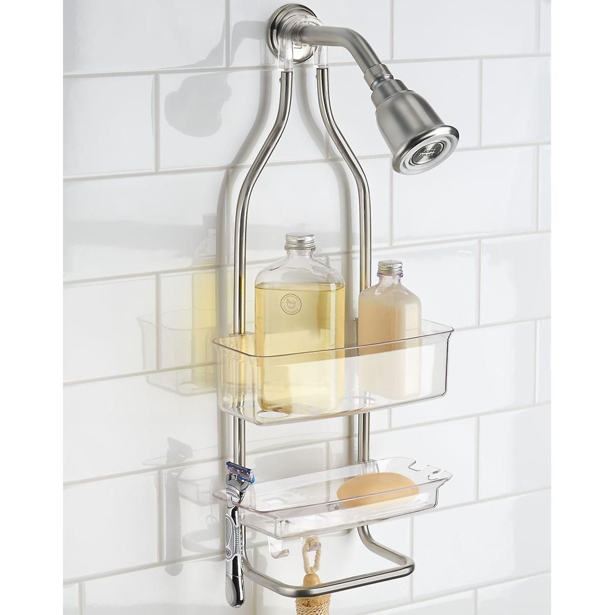 Simplex Shower Caddy In 2020 Shower Caddy Shower Organization Bathroom Corner Rack