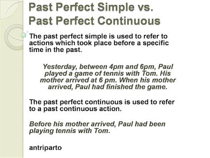 past perfect simple vs past perfect continuous exercises pdf