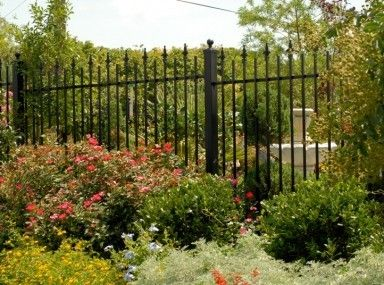 Get Beautiful Fence And Gate Design Ideas Terrific Ornamental Border Fence Page Iron Fence Wrought Iron Fence Panels Garden Design Ideas Videos