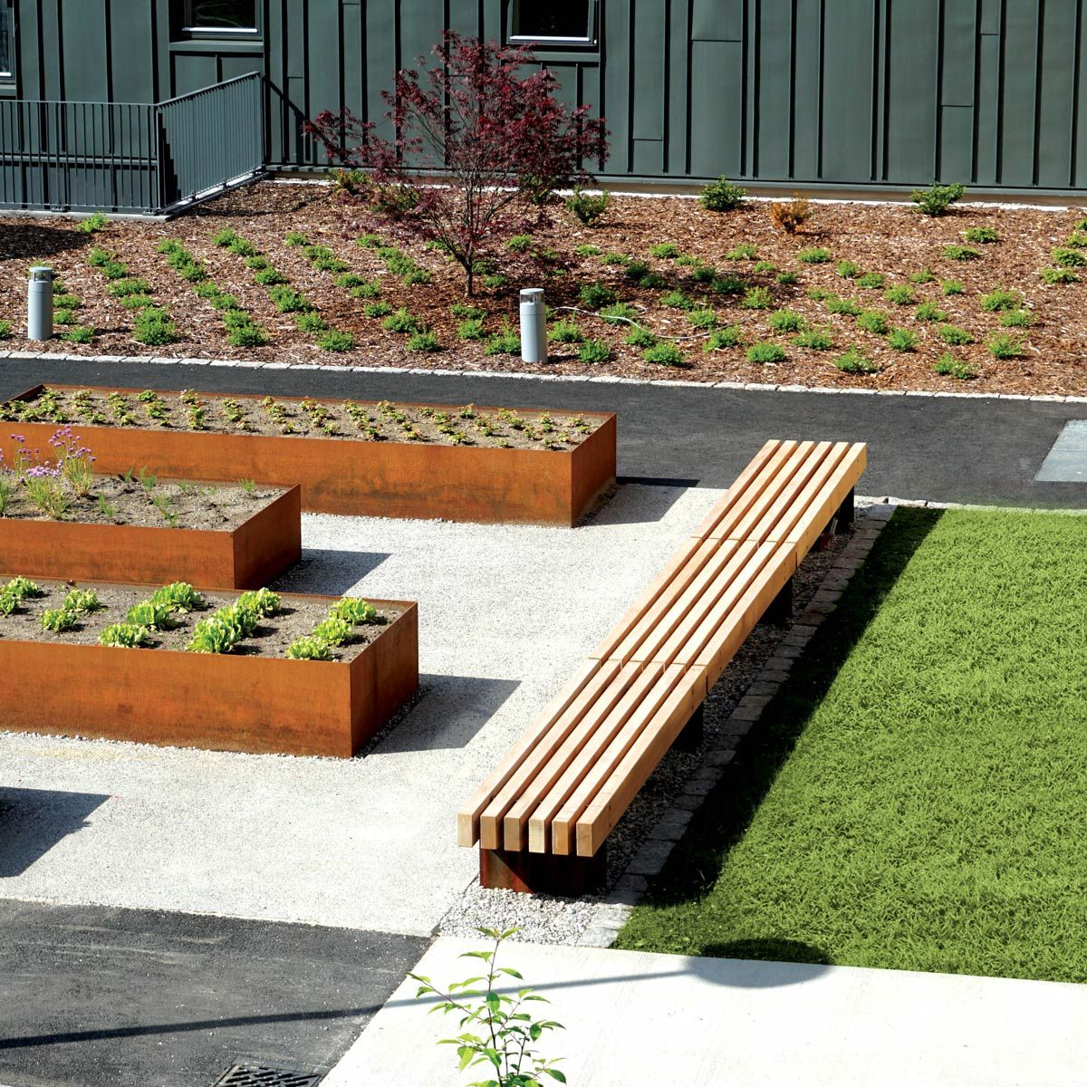 Rough&Ready 6 Benches « Landscape Architecture Works ... on landscape bench drawing, landscape tree designs, landscape arbor designs, landscape bench dimensions, landscape bridge designs, landscape bed designs, landscape wall designs, landscape bench details, landscape garden designs, landscape fence designs, landscape bench graphics, landscape art designs, landscape park designs,