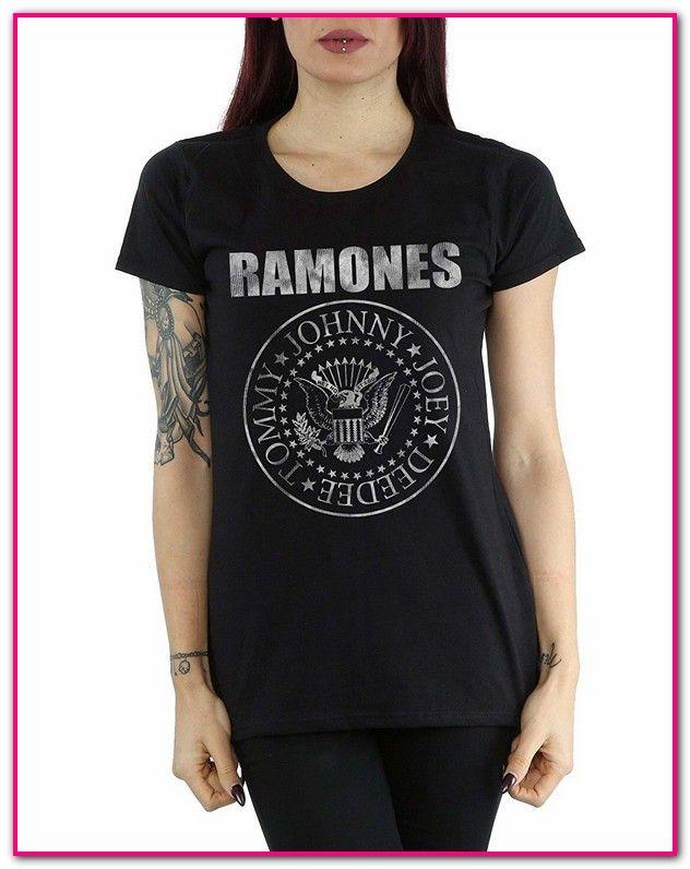 beste website 10e45 6c2c1 Ramones T Shirt Damen Grau | Kleidung, Schuhe & Uhren ...