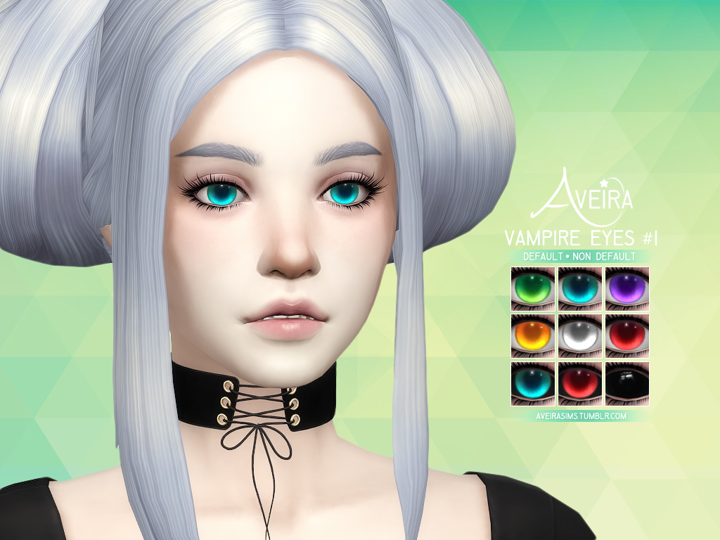 Vampire Eyes #1 • Vampires only • 9 Colors • 2 Options: Non Default ...