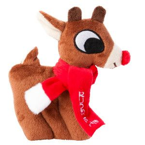 Rudolph The Red Nosed Reindeer Flat Dog Toy Toys Petsmart