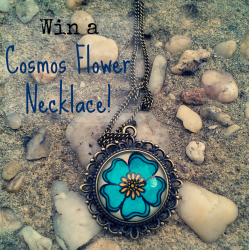 Win Cosmos #Flower #Necklace ^_^ http://www.pintalabios.info/en/fashion-giveaways/view/en/2453 #International #Jewelry #bbloggers #Giweaway