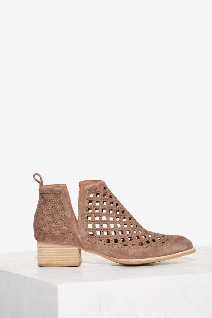 Jeffrey Campbell Taggart Suede Ankle Boot   Shop Shoes at Nasty Gal!