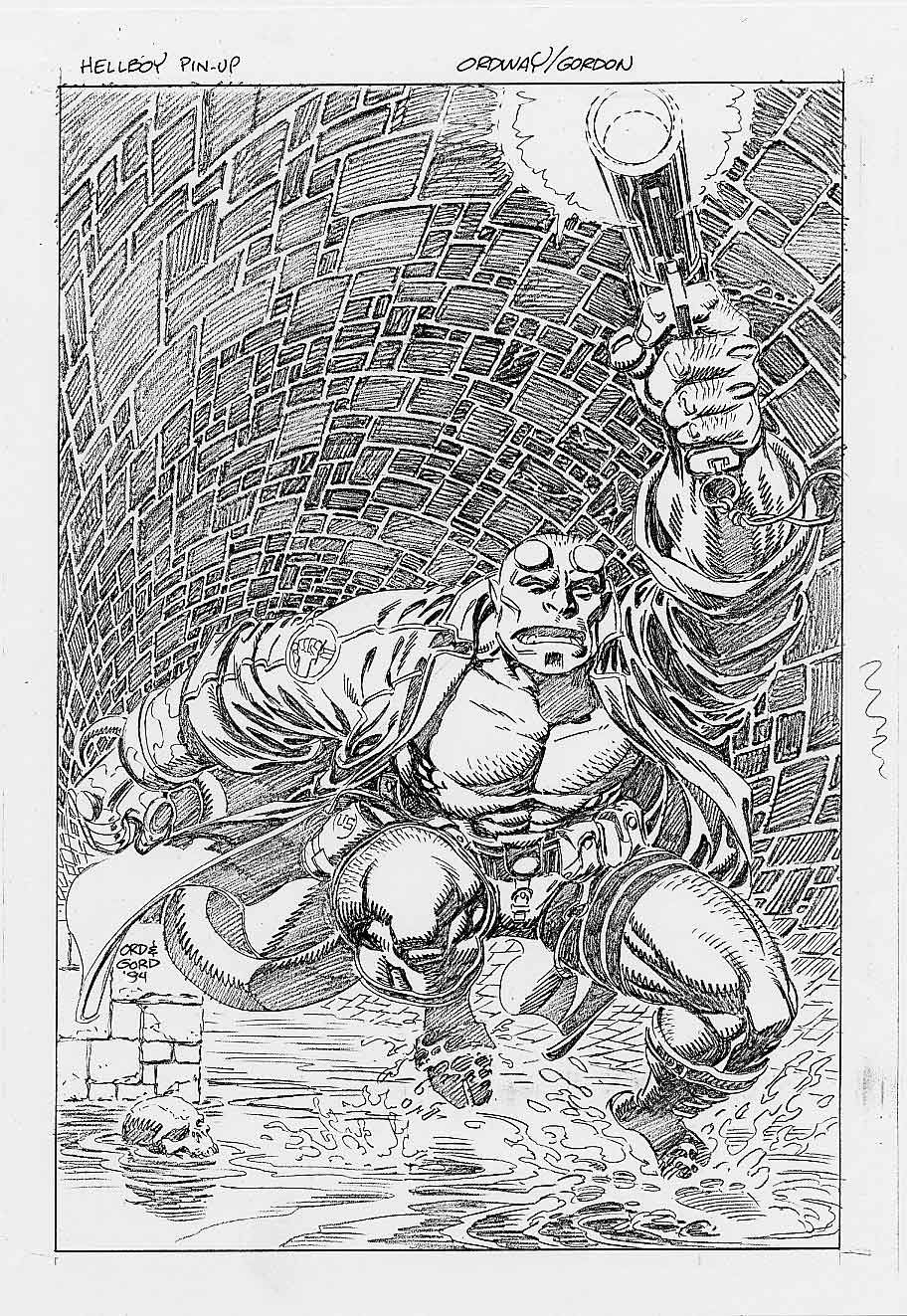 Hellboy by Jerry Ordway