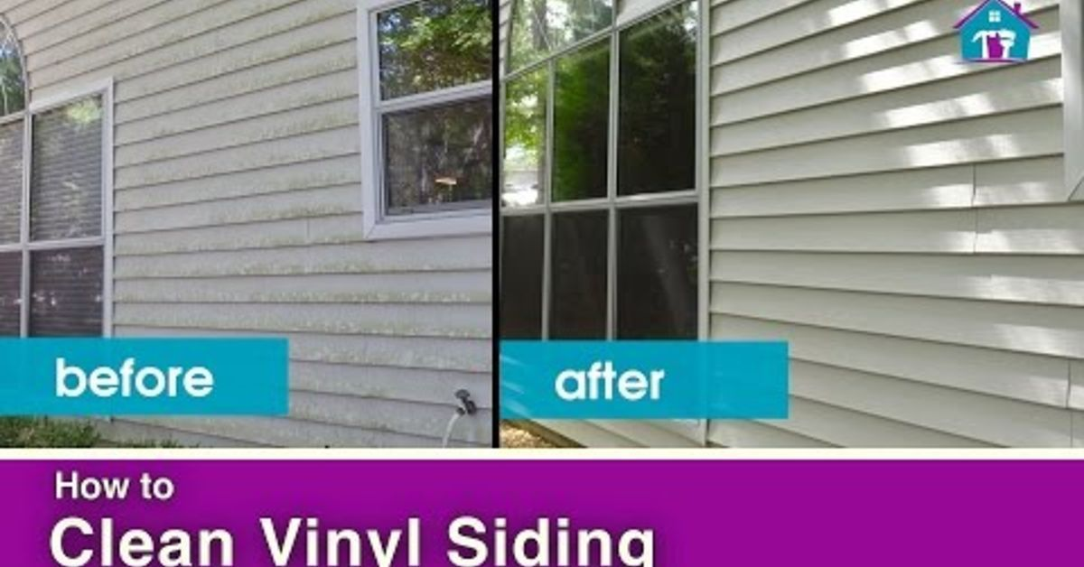 How To Clean Vinyl Siding Cleaning Vinyl Siding Vinyl Siding Vinyl Siding House