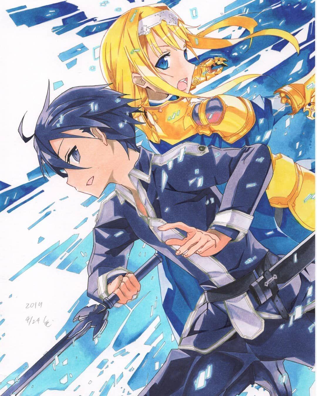 licization trên Instagra Sword art online, Light novel