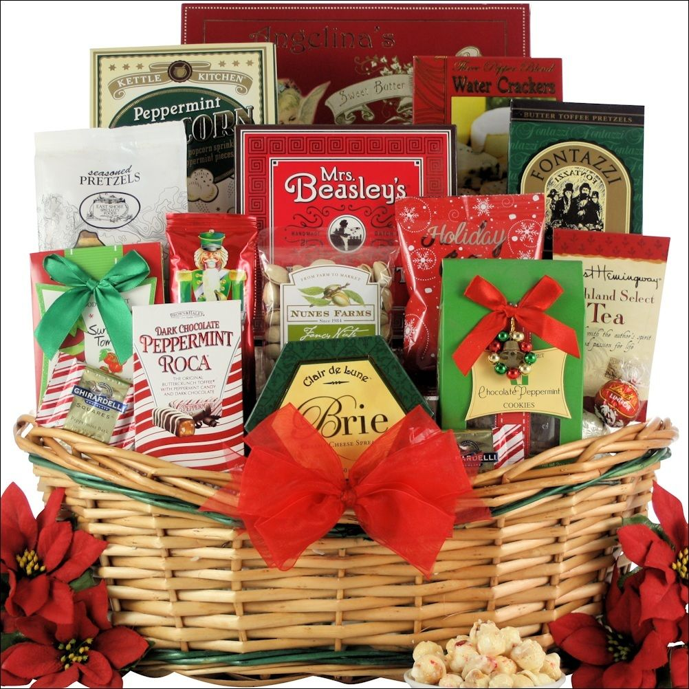 Tidings of Joy: Large Gourmet Holiday Christmas Gift Basket ...