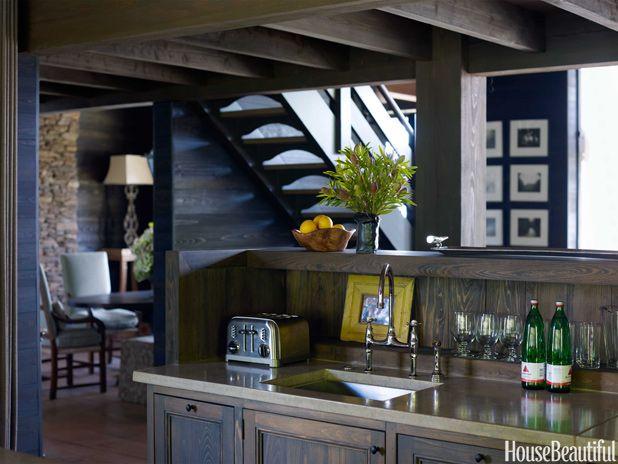 Inside A Cozy Lake House