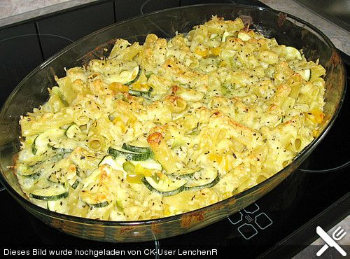 zucchini paprika auflauf