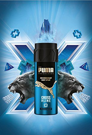 puma deo cross the line