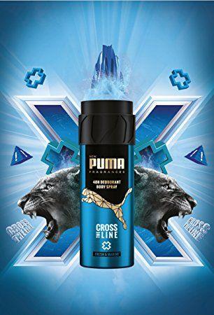la meilleure attitude 08435 08e2b PUMA Fragrances Déodorant Body Spray 48h Cross the Line ...