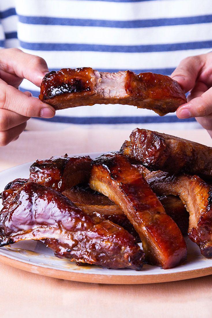 Asian Bbq Pork Spareribs Recipe Rib Recipes Spareribs Recipe Asian Bbq