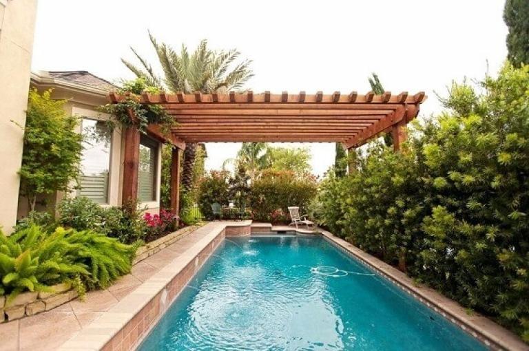 Admirable Beautiful Pergola Pool Ideas