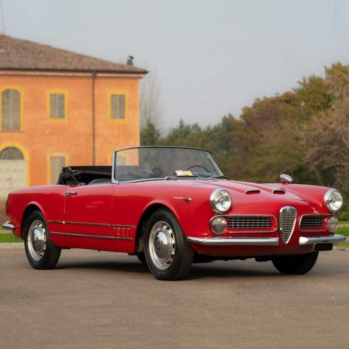 Alfa Romeo 2000 Spider By Touring Superleggera 1960