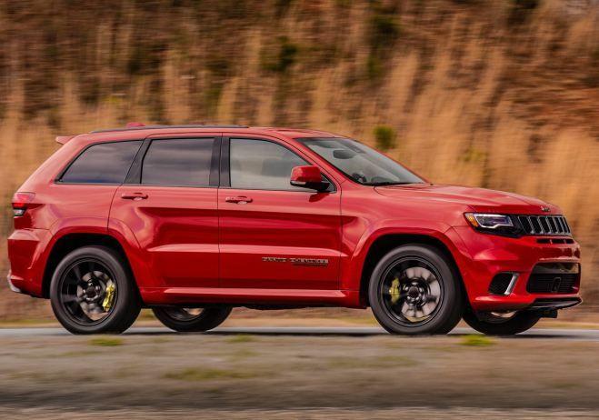 2018 Jeep Grand Cherokee Trackhawk Release Date Price Redesign 0