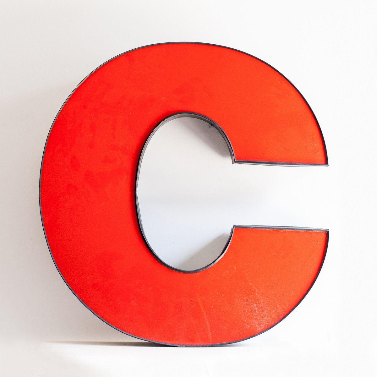 Large Metal Letter C Large Metal Letter  Home Love  Pinterest  Metals