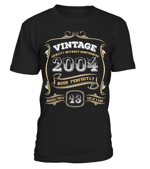 Vintage 2004 13 Years Original Parts . Cool funny Birthday gift for your  wife,