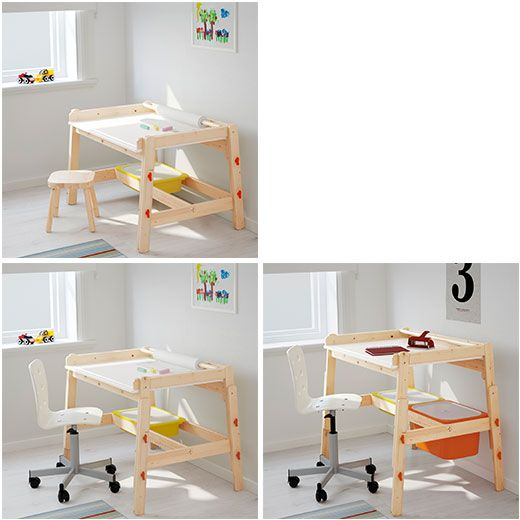 Mesas y sillas flisat bruno 39 s room pinterest sillas for Escritorio infantil ikea