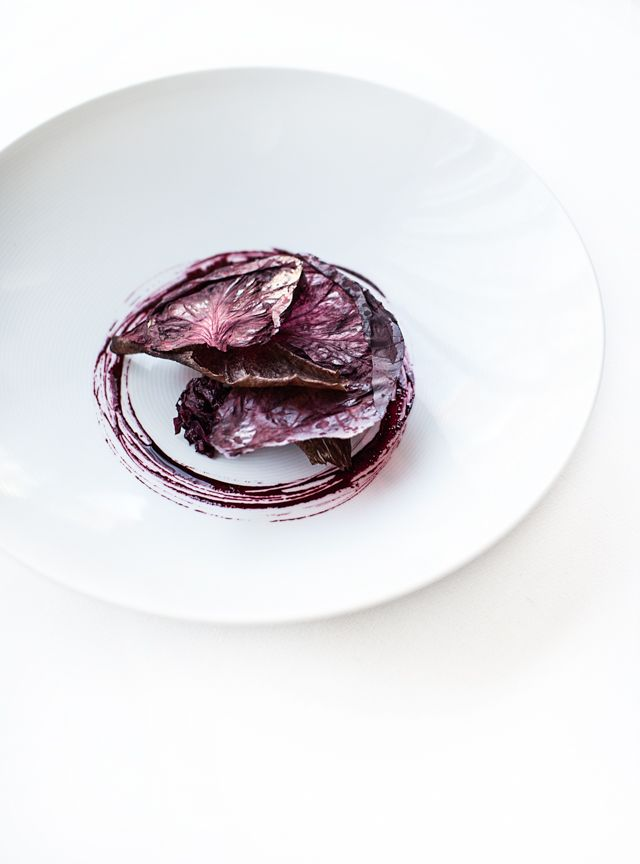 Sa kangaroo with beetroot and radicchio chef mark best of a fabulously unique and beautiful recipe from the creative chef that is mark best of marque restaurant nsw australia featured exclusively in four forumfinder Choice Image