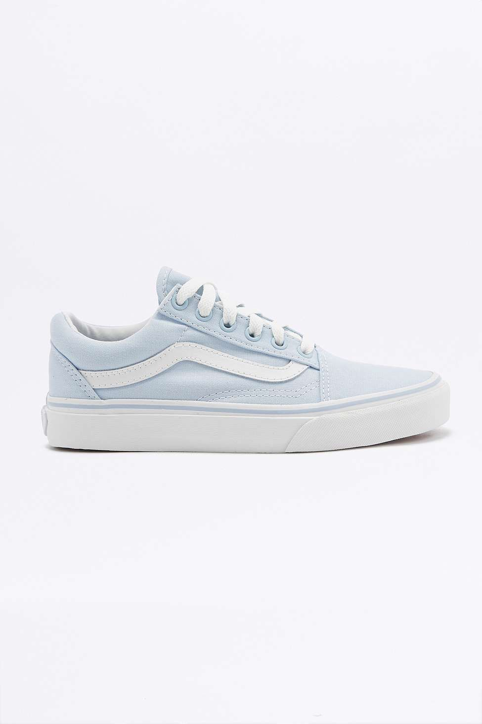 Vans Old Skool Baby Blue Trainers  61d593c25ee