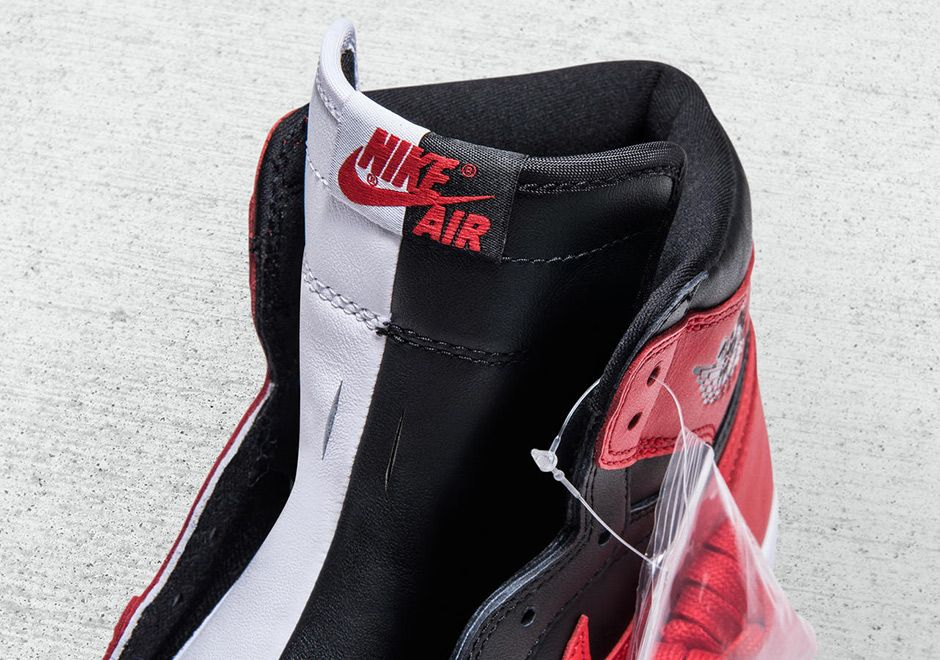 Air jordan 1 homage to home banned chicago sample