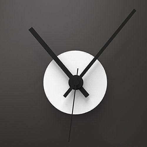 Wandkings wanduhr solo clock mit uhrwerk uhrzeigern farbe uhr wei zeiger schwarz - Besondere wanduhren ...