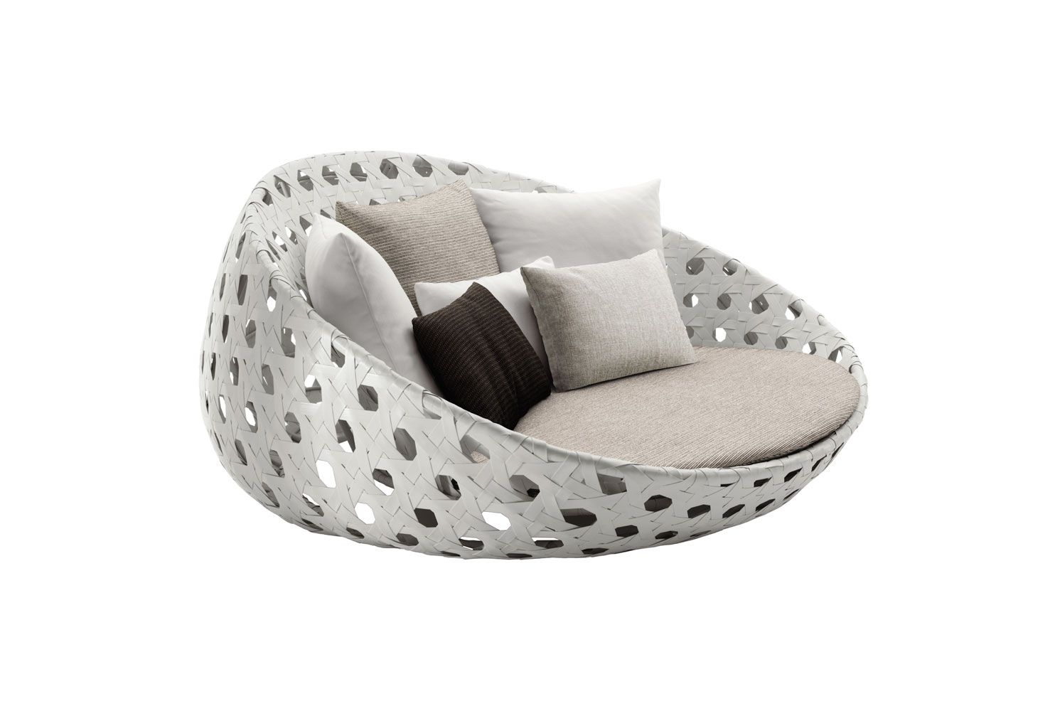 Sofa canasta collection b b italia outdoor design - Ausgefallene gartenmobel ...