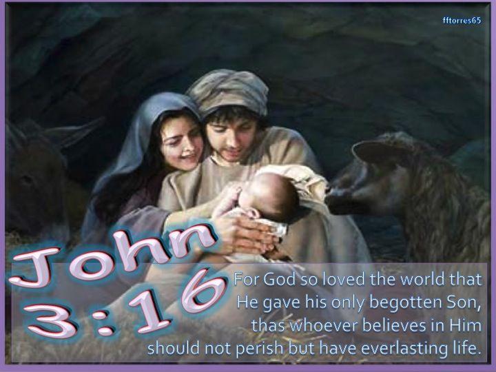 BEGOTTEN SON - JOHN 3:16
