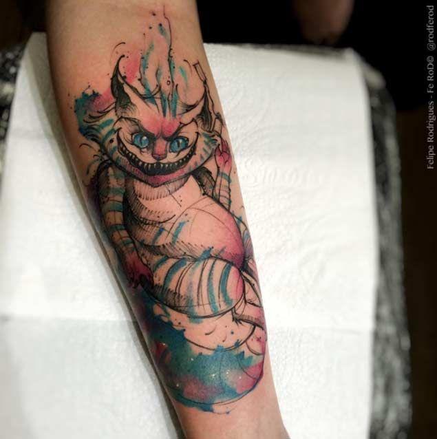 100 Best Alice In Wonderland Tattoos