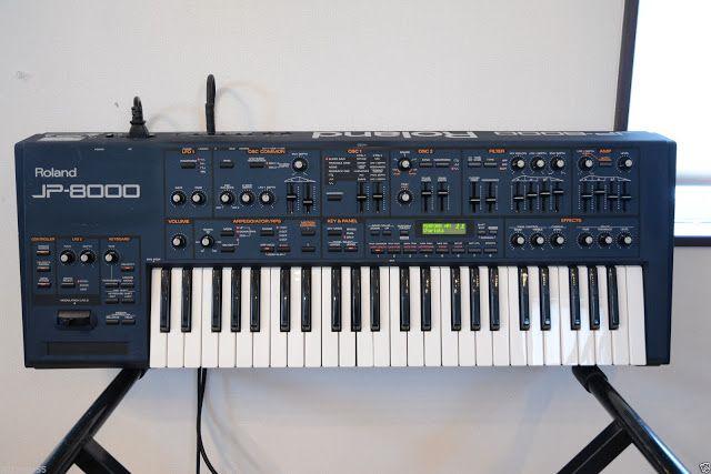 MATRIXSYNTH: Roland JP-8000 Analog Modeling Synthesizer SN AL35