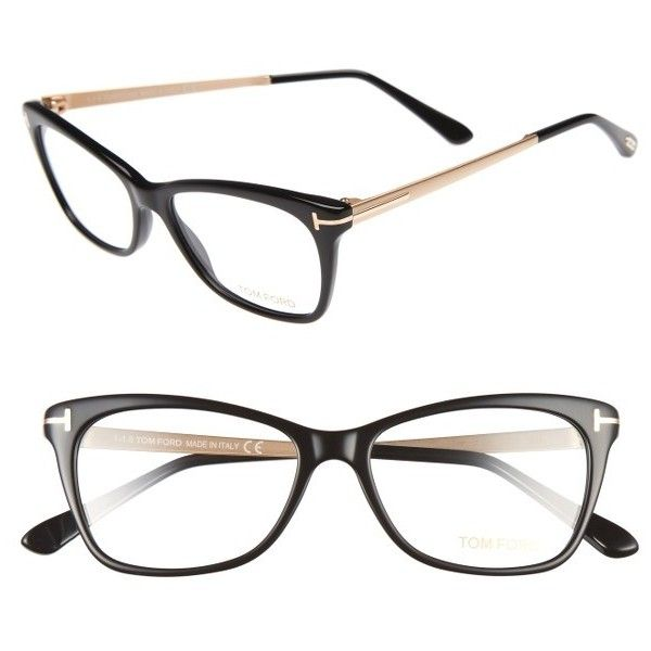 66317940d58 Women s Tom Ford 52Mm Cat Eye Optical Glasses (€400) ❤ liked on Polyvore  featuring accessories