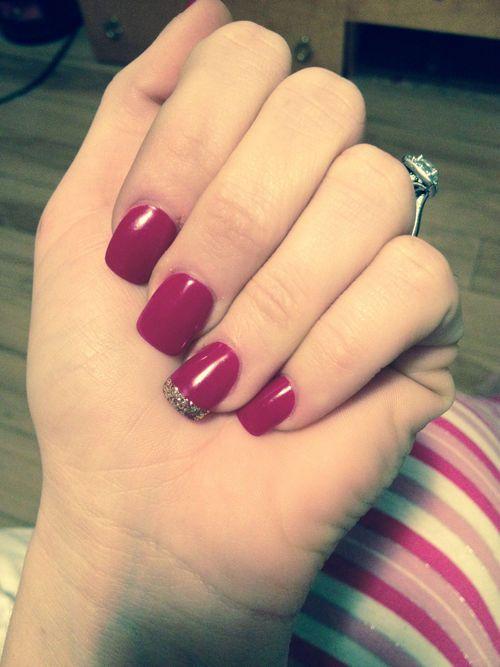 Simple Elegant Nail Art Photo Gallery Fashionref Nails Art
