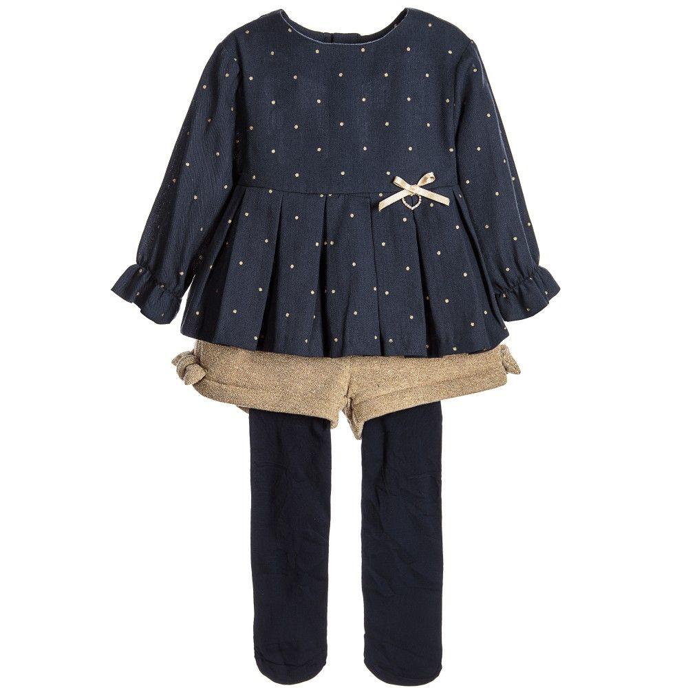 0e80c0979 Tutto Piccolo - Girls Gold Shorts