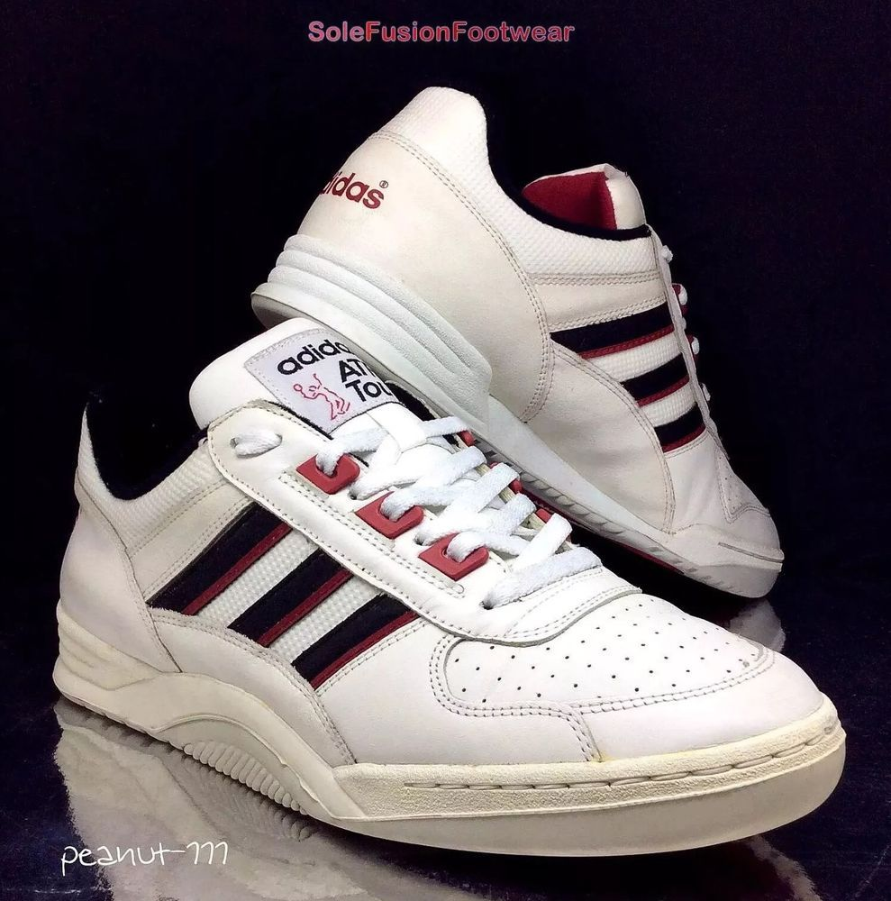 ee861c7d0e2 adidas ATP Tour Mens Trainers White Red size 8.5 VTG Rare Sneaker US 9 EU  42 2 3 in Clothes