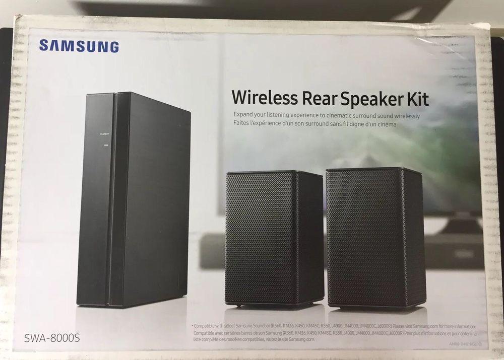 Samsung SWA-8S Wireless Rear Speaker Kit Surround Sound