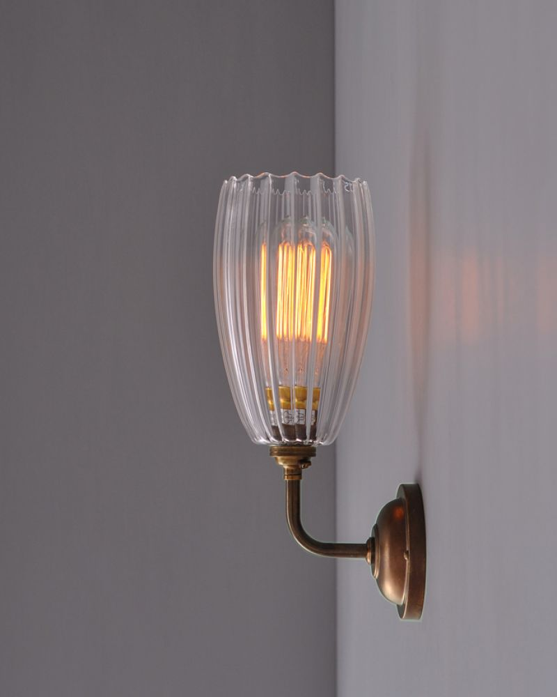 Glass wall light shades 100 images contemporary wall light with glass wall light shades contemporary wall light with ribbed upton glass shade hall room glass wall light shades aloadofball Gallery